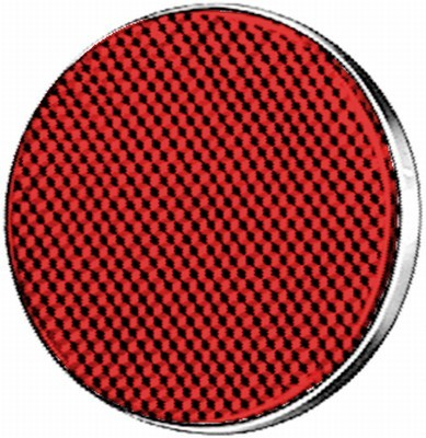 HELLA 8RA 002 016-111 Rückstrahler - Lichtscheibenfarbe: rot - rund - Anbau/geschraubt - hinten