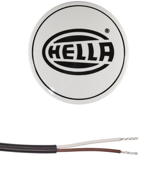 HELLA 1F3 009 094-181 Halogen-Fernscheinwerfer - Luminator Compact - 12V - rund - Referenzzahl: 37.5