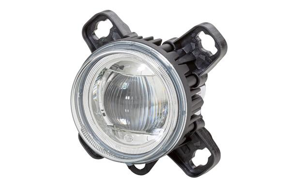 HELLA 1F0 011 988-121 DE/LED-Fernscheinwerfer - 90mm Performance L4060 - 12/24V - Einbau - Stecker: