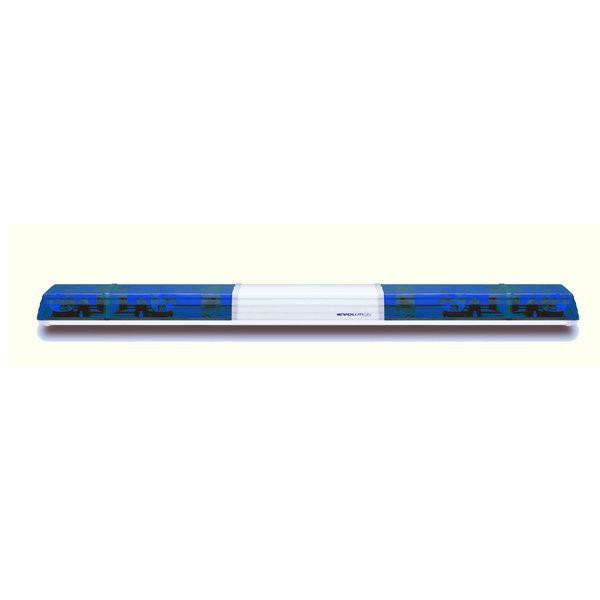Lichtwarnbalken 626 - Drehspiegel 1800 mm blau