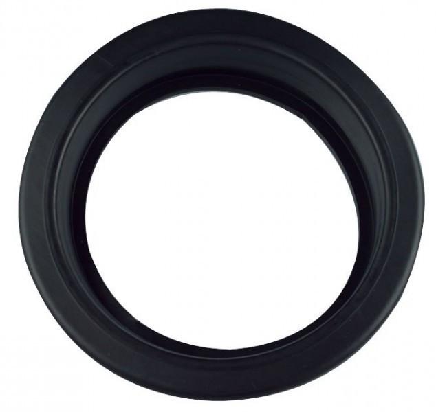 einbaurahmen aus gummi in der farbe schwarz f r led. Black Bedroom Furniture Sets. Home Design Ideas