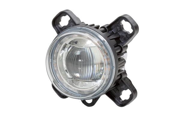 HELLA 1F0 011 988-181 DE/LED-Fernscheinwerfer - 90mm Performance L4060 - 12/24V - Einbau - Stecker: