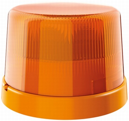 HELLA 9EL 190 025-001 Lichtscheibe, Rundumkennleuchte - KL 7000 - gelb