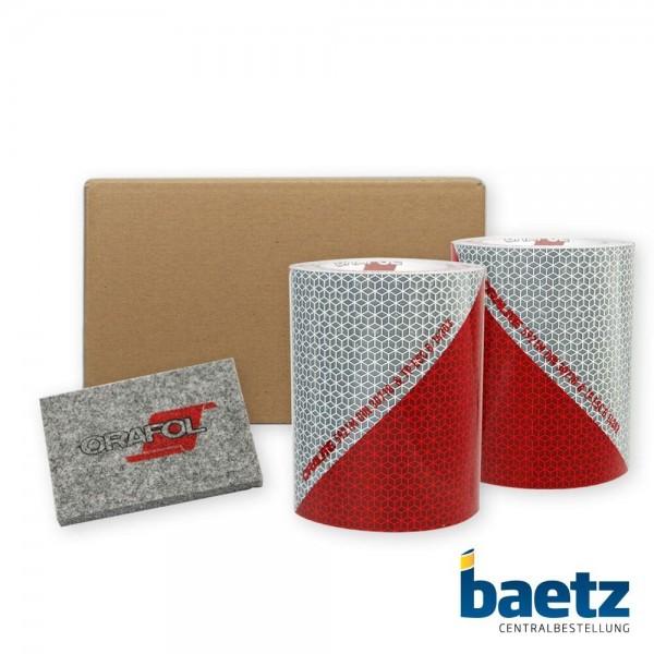 baetz KFZ-Warnmarkierungsfolie, RA2, DIN30710, ORALITE 5921M, 141mm