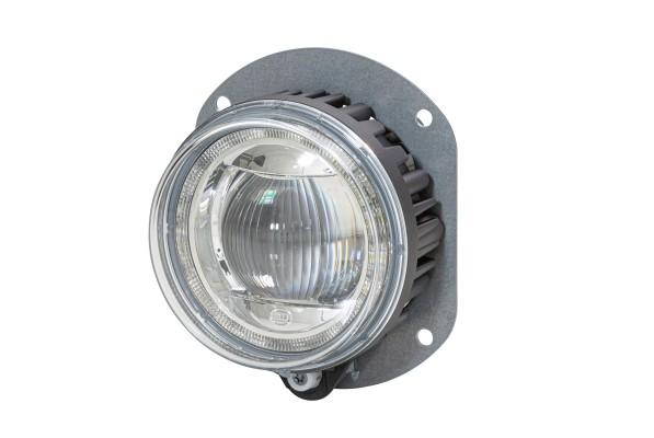 HELLA 1F0 011 988-031 DE/LED-Fernscheinwerfer - 90mm Performance L4060 - 12/24V - rund - Einbau - Li