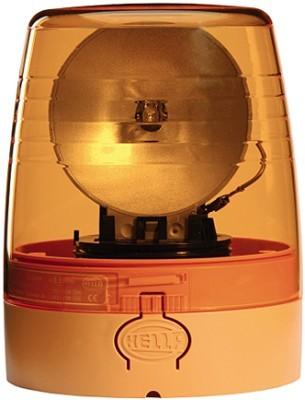 HELLA 9EL 863 100-001 Lichtscheibe, Rundumkennleuchte - gelb