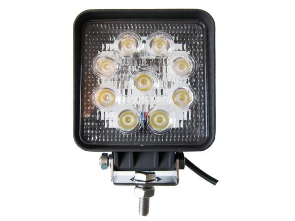 LED Arbeitsscheinwerfer 9 x 3W; 9-32V