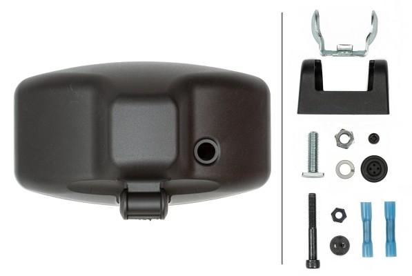 HELLA 1FE 008 773-081 FF/Halogen/Hybrid-Fernscheinwerfer - Jumbo 320 - 12/24V - Referenzzahl: 37.5 -
