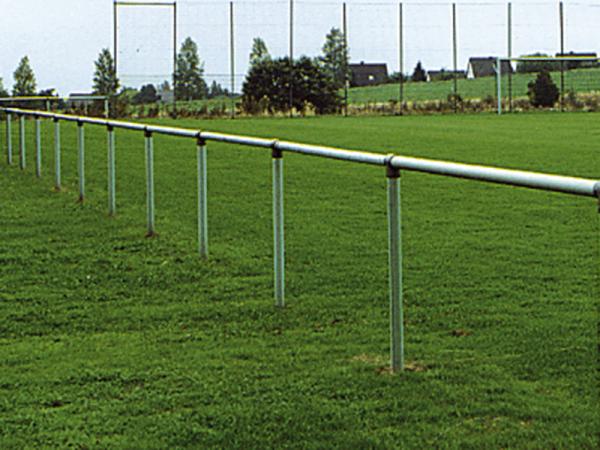 """Geländersystem """"Roma"""", Querrohr, 60 mm verzinktes Stahlrohr"""