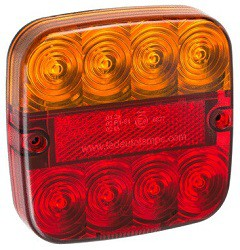LED Kombinationsleuchte 99 12V