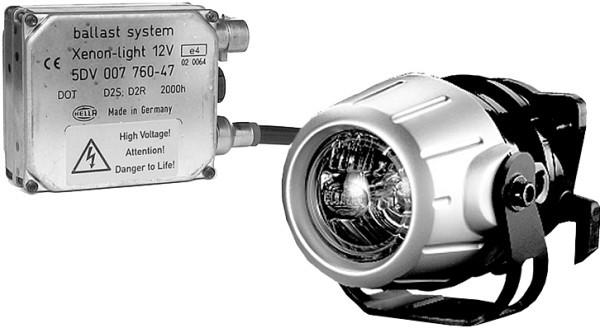 HELLA 1F0 008 390-821 DE/Xenon-Fernscheinwerfersatz - Premium 50 - 12V - rund - Referenzzahl: 17.5 -
