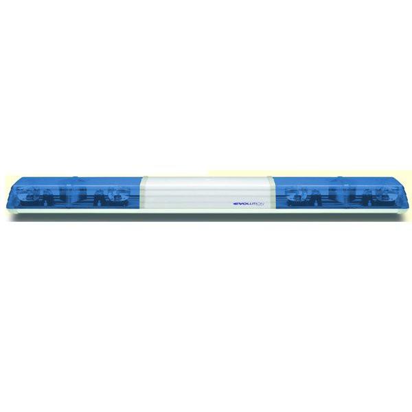 Lichtwarnbalken 625 - Drehspiegel 1500 mm blau AB