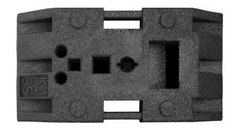 Sicherheitsfußplatte K35, BASt-geprüft