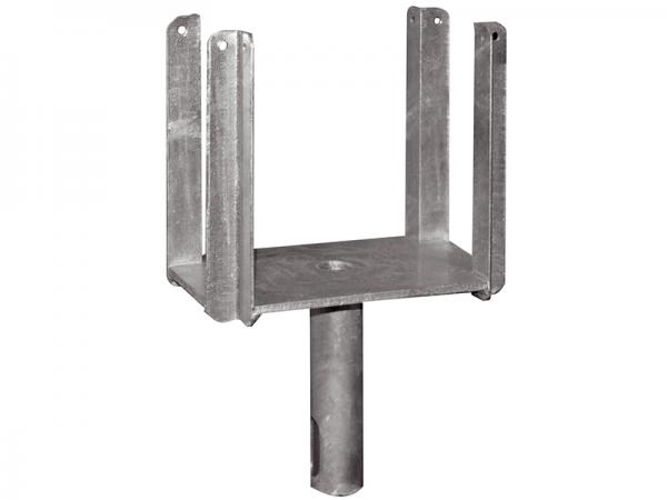 Kopf für Schalungsstützen, Typ Standard, verzinkt, für Rohr Ø 26,9 mm und 38 mm