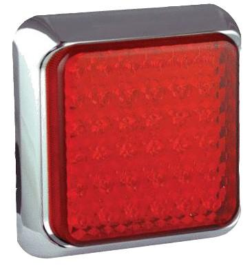 LED Bremsleuchte chrom