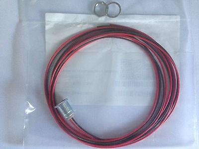 Kabel mit Einbaubuchse für Metallwinkelstecker