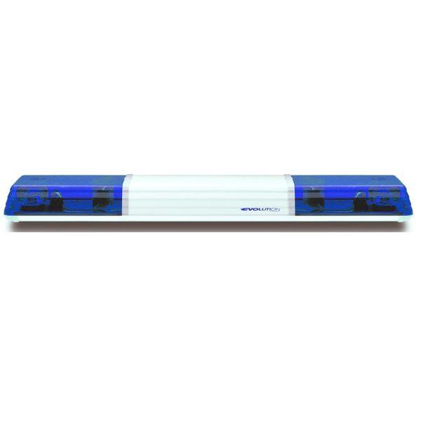 Lichtwarnbalken 605 - Drehspiegel 1500 mm blau