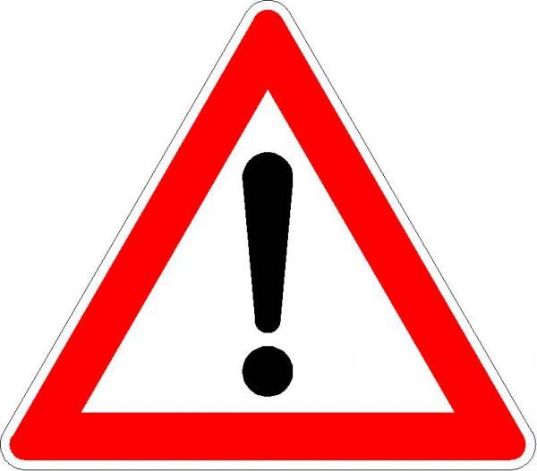 Verkehrszeichen 101 nach StVO