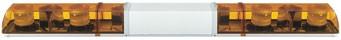 Xenon Doppelblitz Lichtwarnbalken, 4 Blitzer, 12 / 24 Volt, 1.800 mm