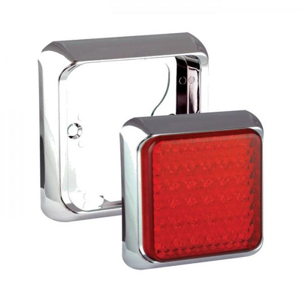 LED carlights Rahmen chrom 100B1C