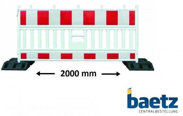 Vario Absperrschranke nach TL-Absturzsicherung 2.000 mm
