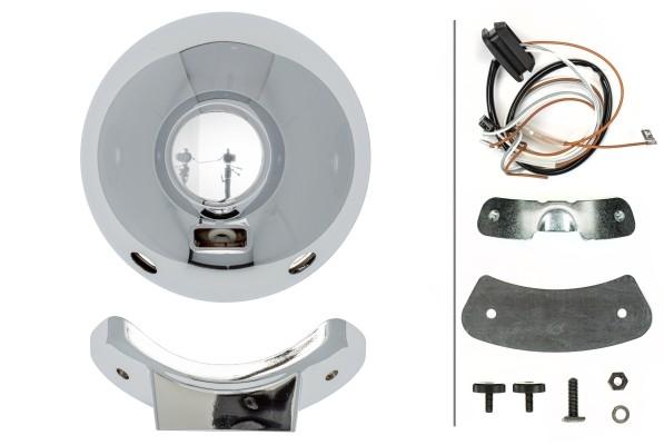 HELLA 1F8 007 560-211 Hybrid-Fernscheinwerfer - Luminator Chromium Celis - 12/24V - rund - Referenzz