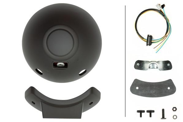 HELLA 1F8 007 560-301 FF/Halogen-Fernscheinwerfer - Luminator Metal - 12/24V - rund - Referenzzahl: