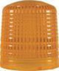 Hella KL 8000 Lichthaube, gelb