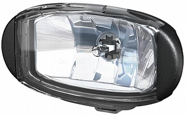 HELLA 1FD 010 953-011 FF/Halogen-Fernscheinwerfer - Comet FF 550 - 12V - oval - Anbau - glasklare St