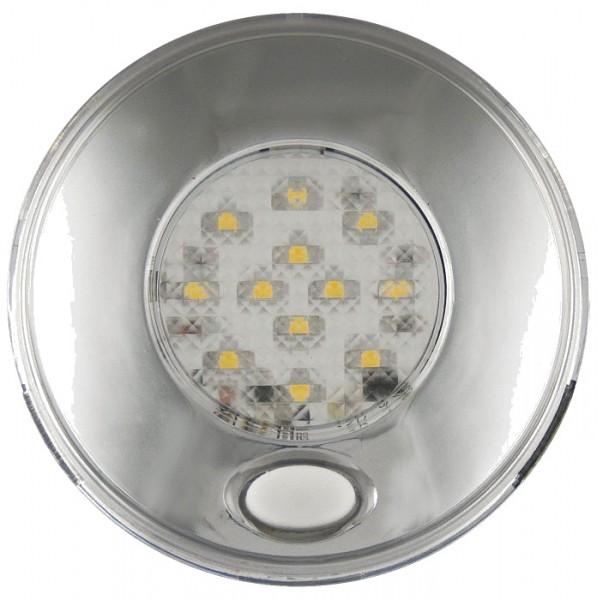 LED Innenraumleuchte silber