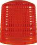 Hella Lichthaube, rot (PMMA)