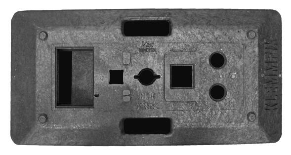Sicherheitsbaken Fußplatte D300M, BASt-geprüft