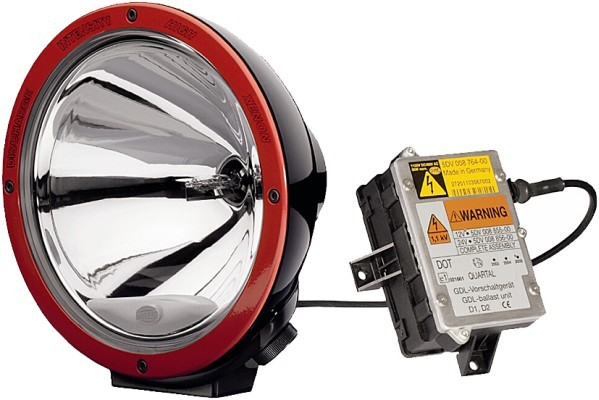 HELLA 1F8 007 560-631 Xenon-Fernscheinwerfer - Luminator Xenon - 24V - rund - Referenzzahl: 37.5 - A