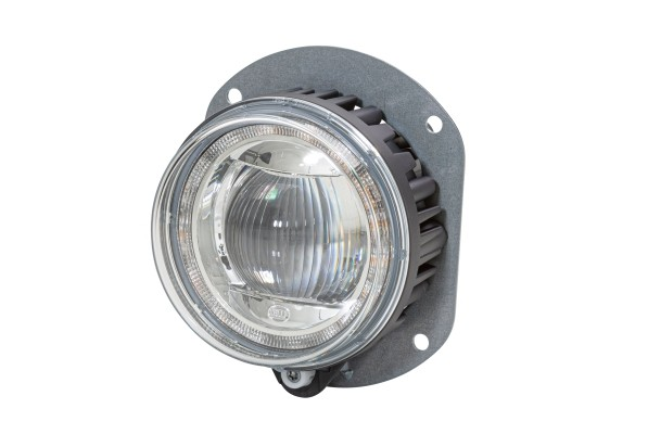 HELLA 1F0 011 988-081 DE/LED-Fernscheinwerfer - 90mm Performance L4060 - 12/24V - Einbau - Stecker:
