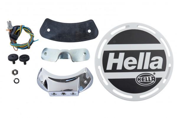 HELLA 1F8 007 560-051 Halogen-Fernscheinwerfer - Luminator Chromium - 12/24V - rund - Referenzzahl:
