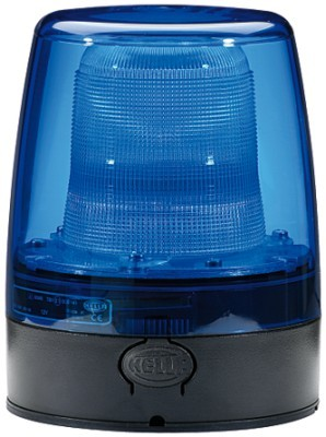 HELLA 9EL 863 100-051 Lichtscheibe, Rundumkennleuchte - blau
