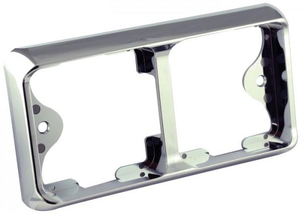 LED carlights Rahmen chrom 80B2C
