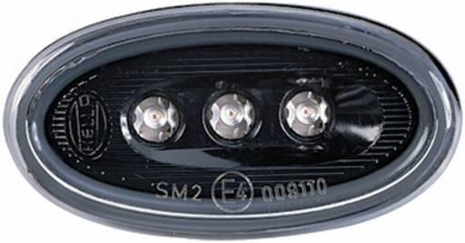 Einbau links//rechts LED HELLA 2PS 008 138-111 Seitenmarkierungsbeleuchtung 12