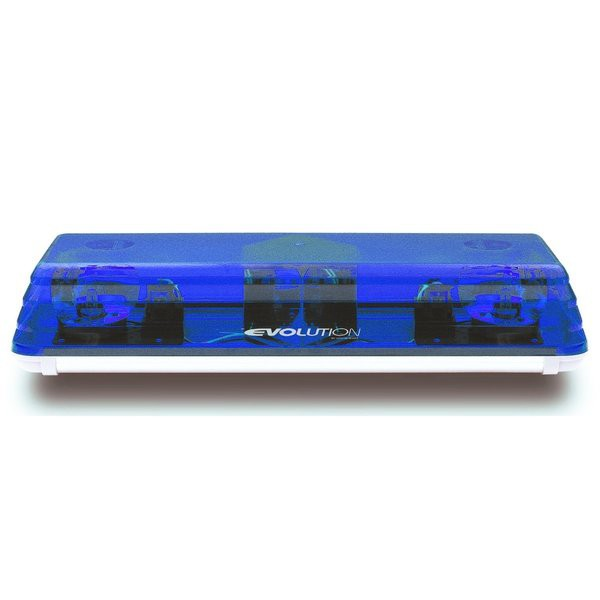 Lichtwarnbalken 600 - Drehspiegel 570 mm blau
