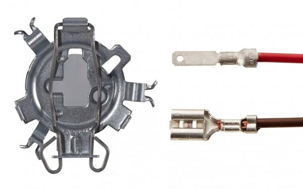 HELLA 1F1 161 825-041 Scheinwerfereinsatz, Fernscheinwerfer - Luminator Compact - 12/24V - Anbau/Ein