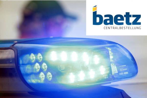 Hänsch DBS 4000 LED Lichtwarnbalken, Blau