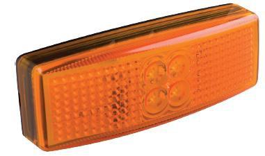 LED Markierungsleuchte orange