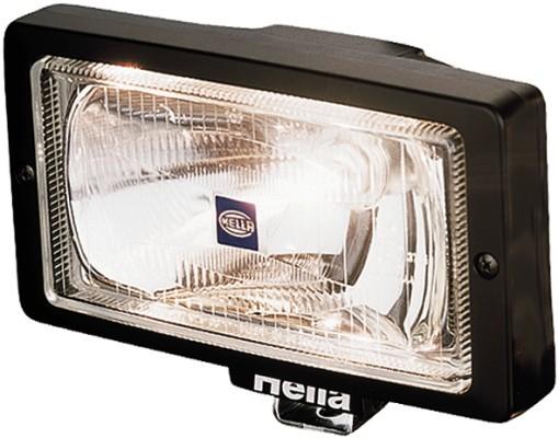HELLA 1FE 006 300-001 Halogen-Fernscheinwerfer - Jumbo 220 - 12/24V - Referenzzahl: 37.5 - Anbau - l