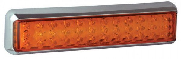 LED Blinker Chromgehäuse