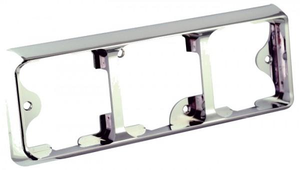 LED carlights Rahmen chrom 80B3C