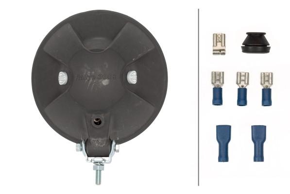 HELLA 1F8 009 797-031 FF/Halogen-Fernscheinwerfer - Rallye 3003 - 12/24V - rund - Referenzzahl: 37.5