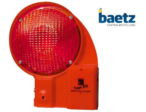 TopLED Sicherheitsbakenleuchte, BASt geprüft, ein- u. zweiseitig rot