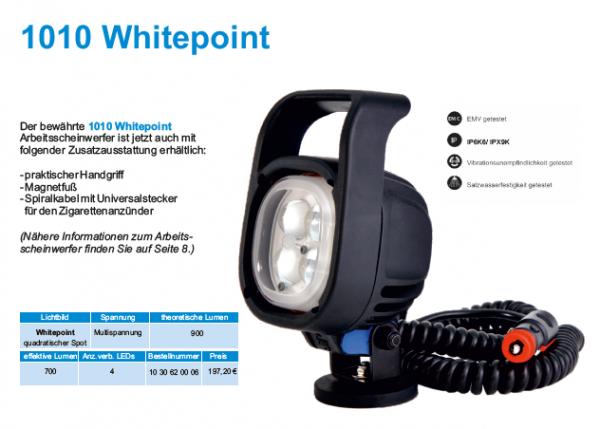 baetz Hänsch, LED Arbeitsscheinwerfer, Whitepoint, Magnetfuß