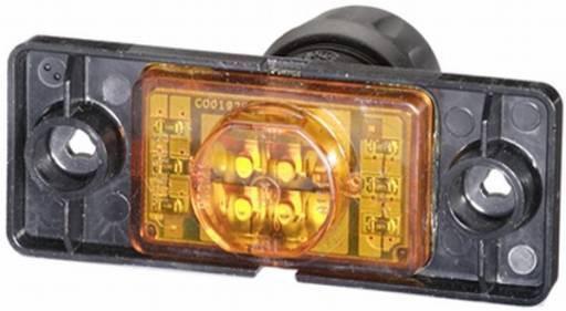Hella Seitenmarkierungsleuchte Breite 92 mm, 1,0 W, 24 V, 2PS008382-001