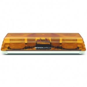 Xenon Doppelblitz Lichtwarnbalken, 10 - 30 Volt, 2 Blitzer, 570 mm